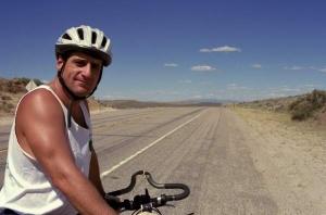 Ray Aramini with Bike For Bread